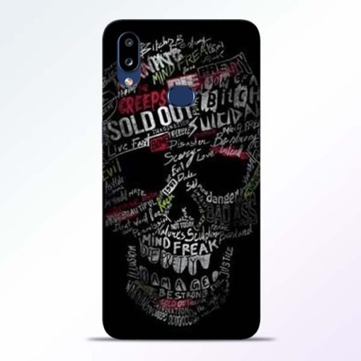 Skull Face Samsung Galaxy A10s Mobile Cover