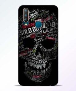 Skull Face Vivo U10 Mobile Cover