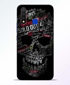 Skull Face Vivo U20 Mobile Cover