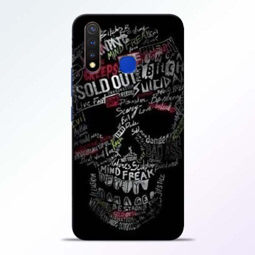 Skull Face Vivo U20 Mobile Cover