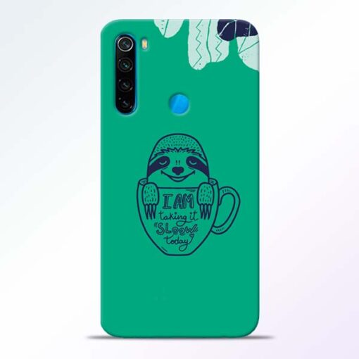 Sloow Redmi Note 8 Mobile Cover