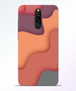 Spill Color Art Redmi 8 Mobile Cover