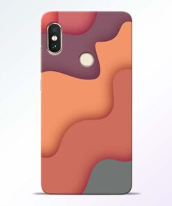 Spill Color Art Redmi Note 5 Pro Mobile Cover