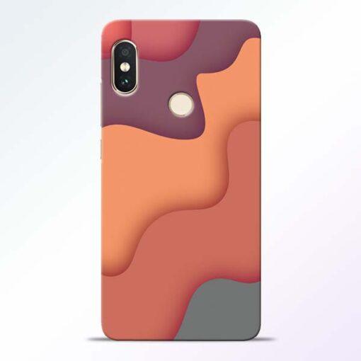 Spill Color Art Redmi Note 5 Pro Mobile Cover