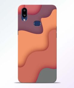Spill Color Art Samsung Galaxy A10s Mobile Cover