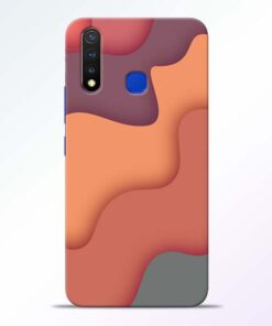 Spill Color Art Vivo U20 Mobile Cover
