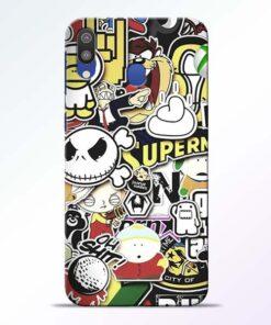 Sticker Bomb Samsung Galaxy M20 Mobile Cover