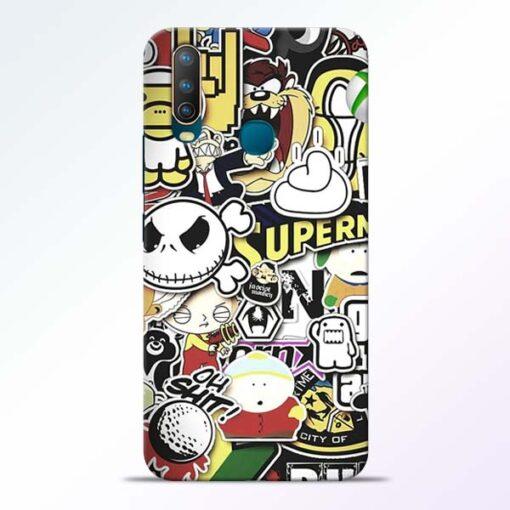 Sticker Bomb Vivo U10 Mobile Cover