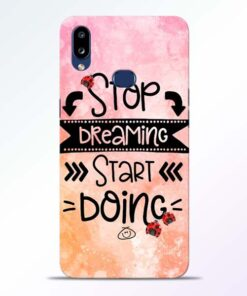 Stop Dreaming Samsung Galaxy A10s Mobile Cover