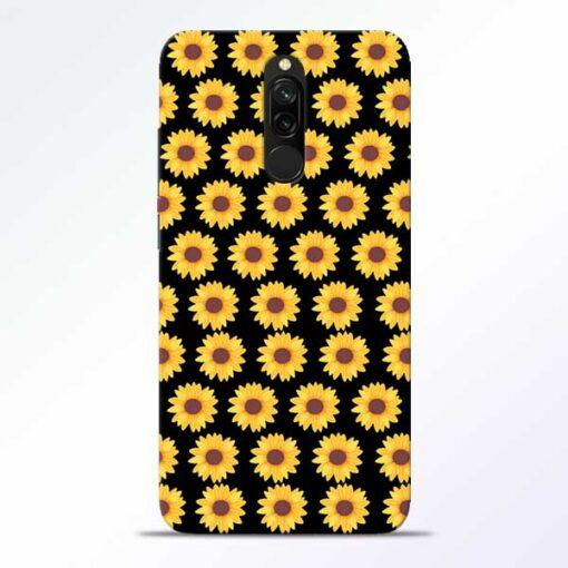 Sunflower Redmi 8 Mobile Cover