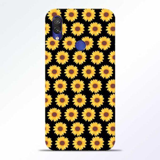 Sunflower Redmi Note 7 Pro Mobile Cover