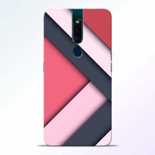 Texture Design Oppo F11 Pro Mobile Cover