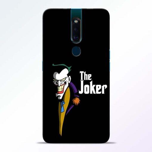 The Joker Face Oppo F11 Pro Mobile Cover