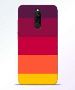 Thick Stripes Redmi 8 Mobile Cover