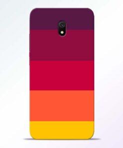 Thick Stripes Redmi 8A Mobile Cover