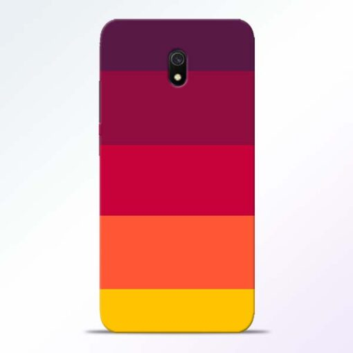Thick Stripes Redmi 8A Mobile Cover
