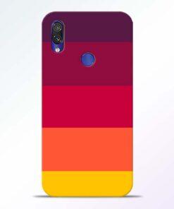 Thick Stripes Redmi Note 7 Pro Mobile Cover