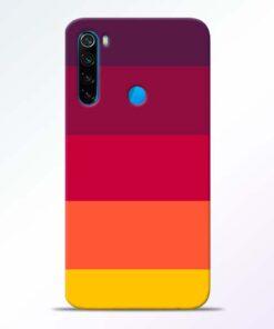 Thick Stripes Redmi Note 8 Mobile Cover