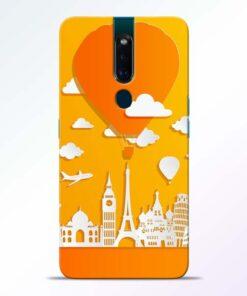 Traveller Oppo F11 Pro Mobile Cover
