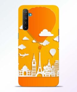 Traveller Realme XT Mobile Cover