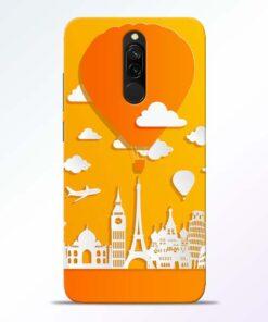 Traveller Redmi 8 Mobile Cover