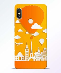 Traveller Redmi Note 5 Pro Mobile Cover
