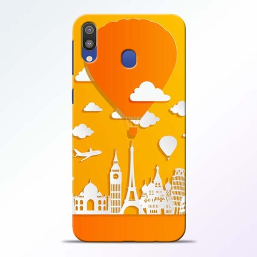 Traveller Samsung Galaxy M20 Mobile Cover