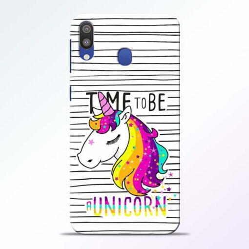 Unicorn Horse Samsung Galaxy M20 Mobile Cover