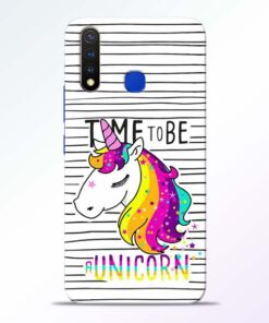 Unicorn Horse Vivo U20 Mobile Cover