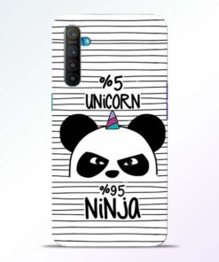 Unicorn Panda Realme XT Mobile Cover