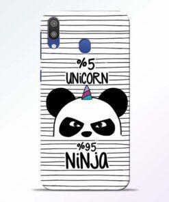 Unicorn Panda Samsung Galaxy M20 Mobile Cover