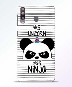 Unicorn Panda Samsung Galaxy M30 Mobile Cover