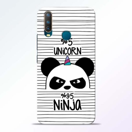 Unicorn Panda Vivo U10 Mobile Cover