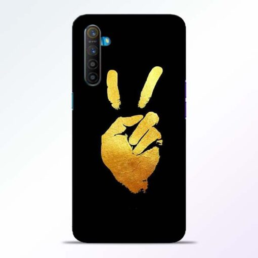 Victory Hand Realme XT Mobile Cover