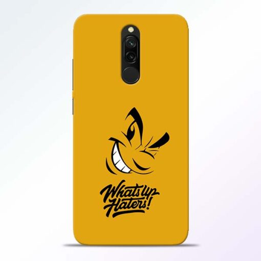 Whats Up Redmi 8 Mobile Cover