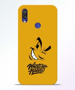 Whats Up Redmi Note 7 Pro Mobile Cover