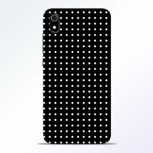 White Dot Redmi 7A Mobile Cover