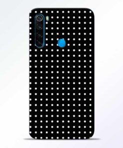 White Dot Redmi Note 8 Mobile Cover