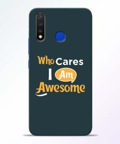 Who Cares Vivo U20 Mobile Cover