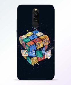 Wolrd Dice Redmi 8 Mobile Cover