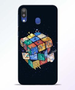 Wolrd Dice Samsung Galaxy M20 Mobile Cover