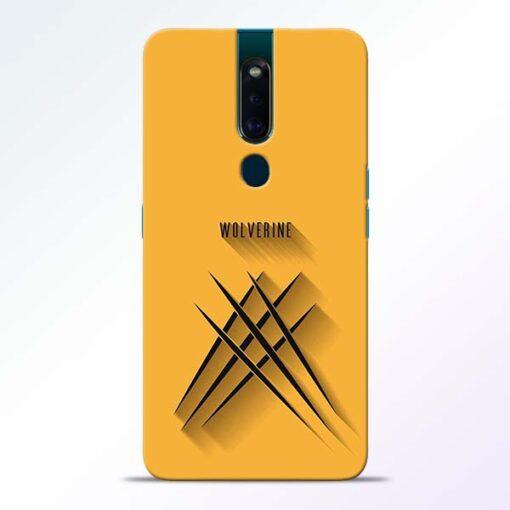 Wolverine Oppo F11 Pro Mobile Cover