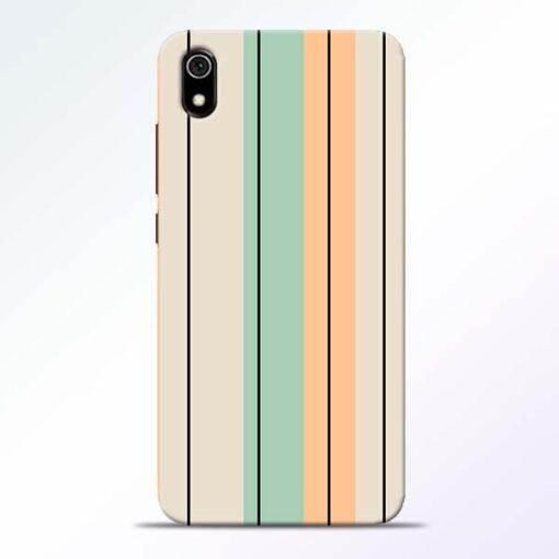 Wood Color Redmi 7A Mobile Cover
