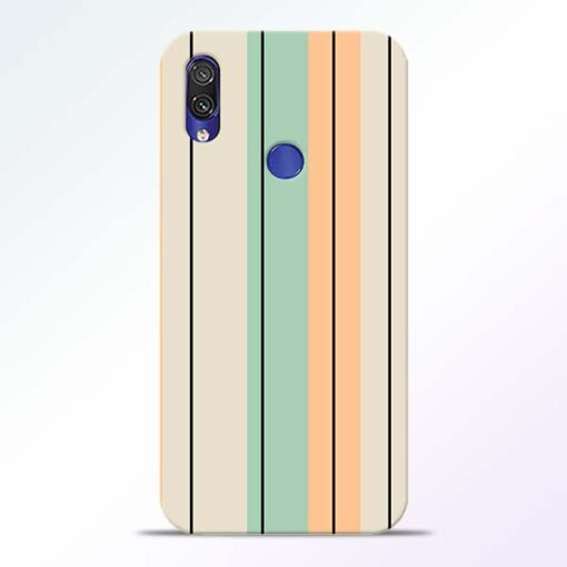 Wood Color Redmi Note 7 Pro Mobile Cover