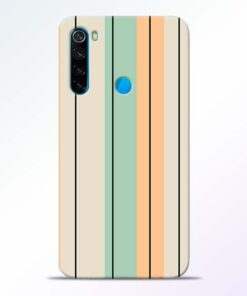 Wood Color Redmi Note 8 Mobile Cover