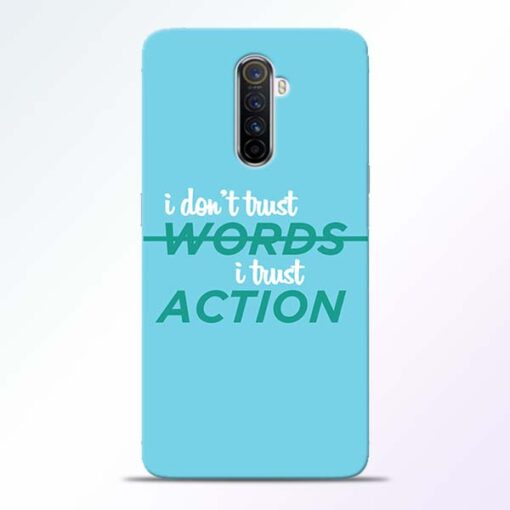 Words Action Realme X2 Pro Mobile Cover