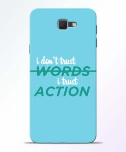 Words Action Samsung Galaxy J7 Prime Mobile Cover