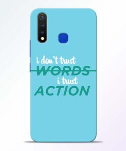 Words Action Vivo U20 Mobile Cover