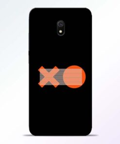 XO Pattern Redmi 8A Mobile Cover