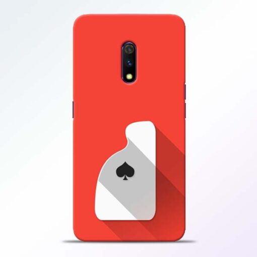 Ace Card Realme X Mobile Cover